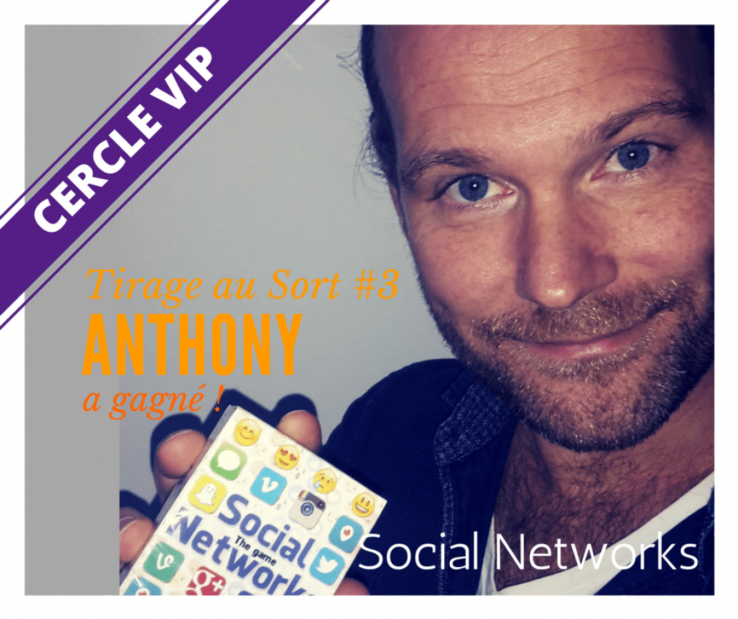 Anthony JAMES remporte Social Networks