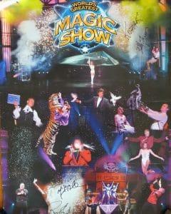 Affiche World's Greatest Magic Show