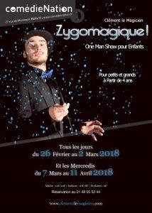 Zygomagique ! de Clément le magicien (75) @ La Comédie Nation | Paris | Île-de-France | France