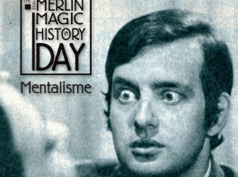 The Jean Merlin Magic History Day 2014 Mentalisme