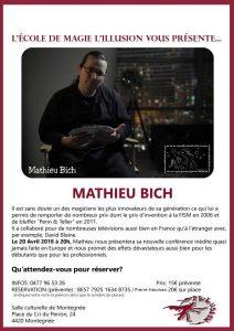Conférence de Mathieu BICH (Liège) @ Salle culturelle de Montegnee   Montegnée   Wallonie   Belgique