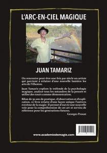 L'Arc-en-Ciel Magique de Juan TAMARIZ - 4e de couverture
