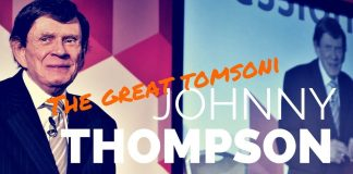 Johnny THOMPSON alias The Great Tomsoni