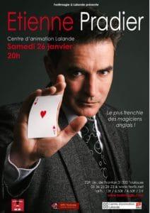 Spectacle et conférence de Etienne PRADIER (31) @ Centre d'animation Lalande | Toulouse | Occitanie | France