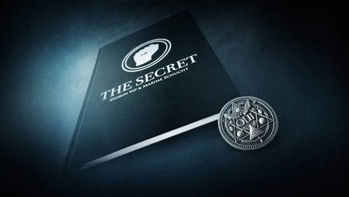 The Secret de Sylvain VIP et Maxime SCHUCHT livre+piece