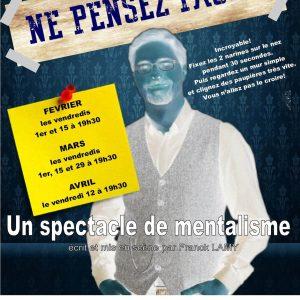 Ne pensez pas de Franck LAMY (75) @ Théâtre Pixel | Paris | Île-de-France | France