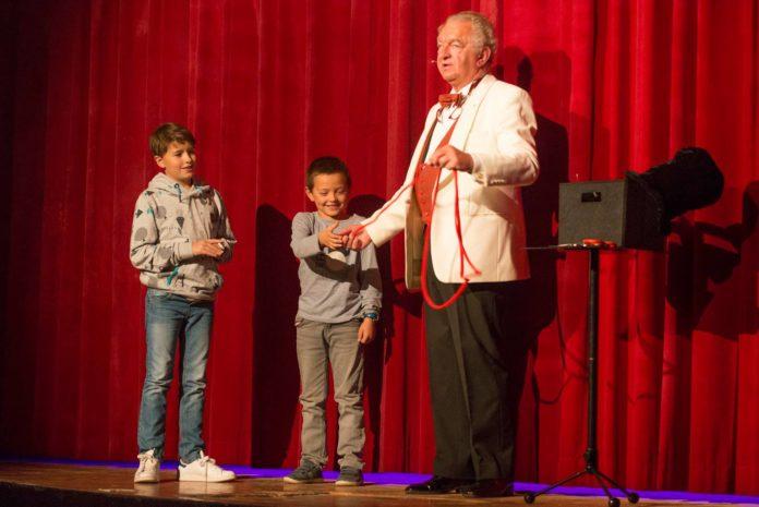Alain SLIM au Gala du Rire et de la Magie à Liège