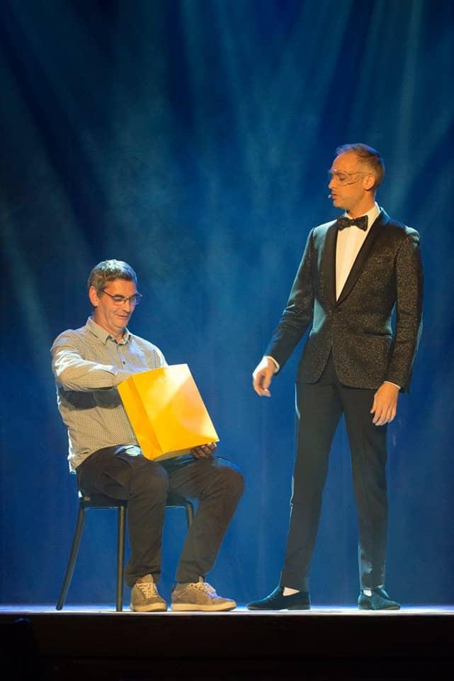 Fred RAZON au Gala du Rire et de la Magie à Liège