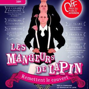 Les Mangeurs de Lapin Remettent le Couvert (41) @ Théâtre Fechner à la Maison de la Magie Robert-Houdin