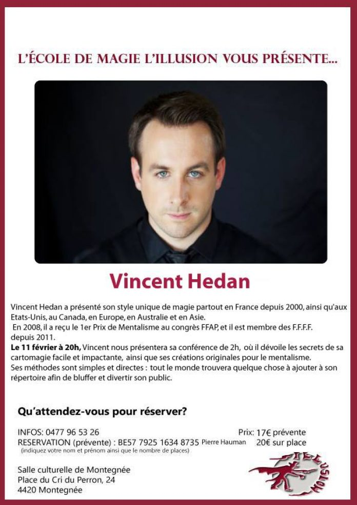 Vincent HEDAN