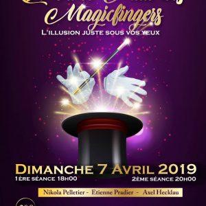 Nuit des Magicfingers (75) @ Théatre Darius Mihaud