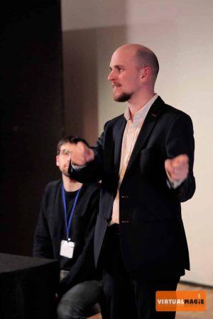 Pierre ONFROY au 1er Magic Day VirtualMagie.com Photo de Noé DAVID
