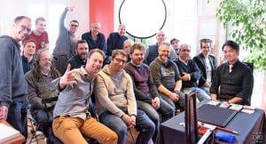 Conférence VM avec Shoot OGAWA Photo de Yohko pour Virtual Magie (