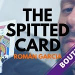 The Spitted Card de Román GARCIA