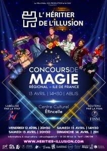 L'Héritier de l'Illusion 2019 - Concours Régional Île de France (78) @ Espace culturel Étincelle