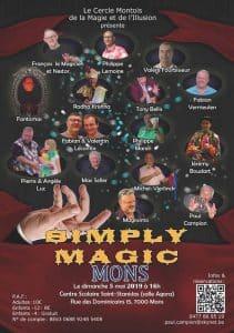 Simply Magic 2 (spectacle de magie du CeMMI) (Belgique) @ Centre Scolaire St-Stanislas, Salle Agora