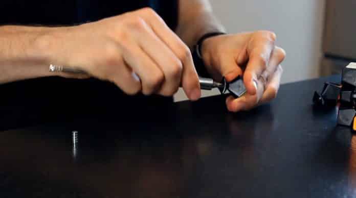 Capture vidéo aimants - Rubiked de Vincent TARRIT