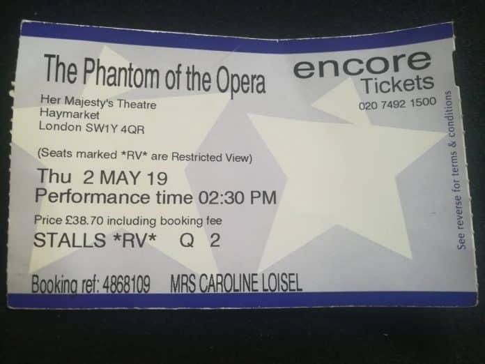 Opera Phantom e1557509641910 696x522 - Voyage « magique » à Londres