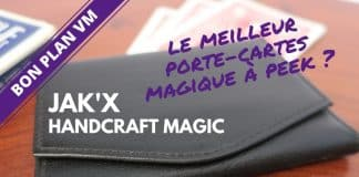 porte-cartes magique Jak'X de Handcraft Magic