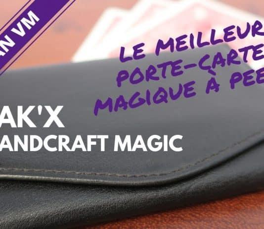 porte-cartes magique Jak'X de Handcraft Magic