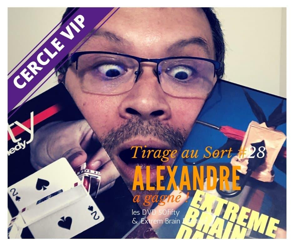2013174548 Alexandreremportele28etirageausortrservauxVIP - Cercle VIP :  accède à tout un tas d'avantages exclusifs !