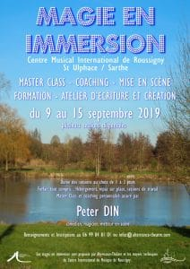 Magie en Immersion avec Peter DIN (72) @ Centre Musical International de Roussigny (Sarthe)