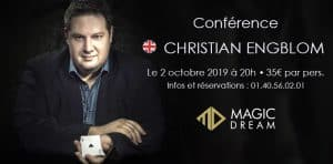 Conférence de Christian ENGBLOM (75) @ Magic Dream