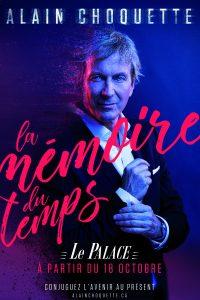 La Mémoire du Temps de Alain CHOQUETTE (75) @ Le Palace