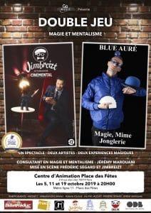 Double Jeu - Magie & Mentalisme (75) @ Centre d'Animation Place des Fêtes
