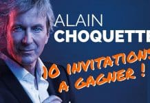 10 invitations Alain CHOQUETTE