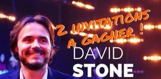 2 invitations David STONE