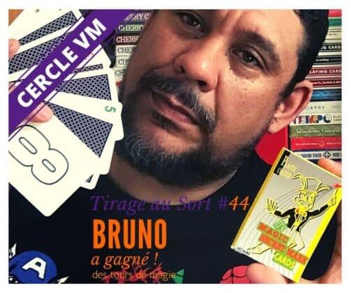 Bruno Remporte Le 44e Tirage Au Sort Réservé Aux Membres Du Cercle Vm