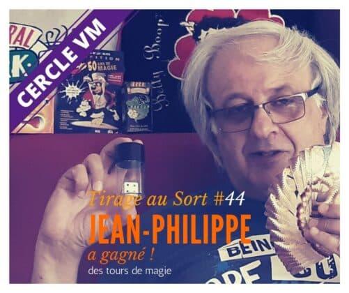Jean Philippe Remporte Le 44e Tirage Au Sort Réservé Aux Membres Du Cercle Vm