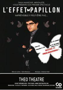 L'Effet Papillon de Taha MANSOUR (75) @ Théo Théâtre