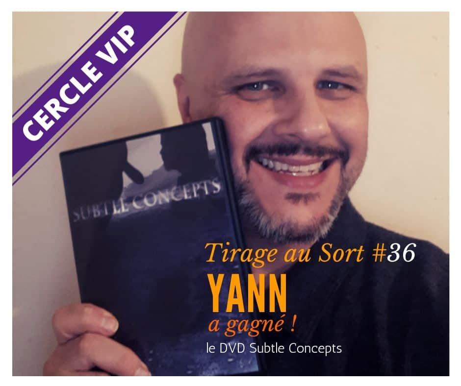 Yann remporte le 36e tirage au sort réservé aux VIP