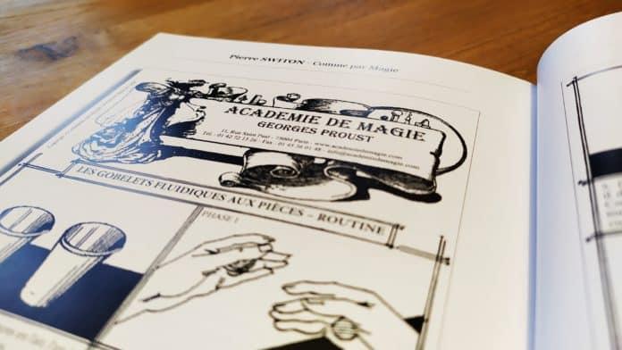 Illustration de James HODAGE dans une page intérieure de Comme par Magie de Pierre Switon