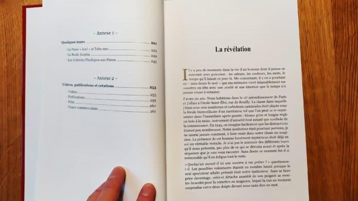 Sommaire de Couverture de Comme par Magie de Pierre Switon