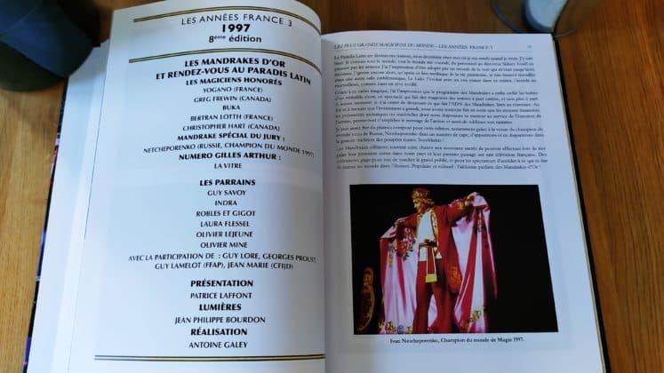 Les Plus Grands Magiciens Du Monde 30 Ans De Mandrakes D'or (7)