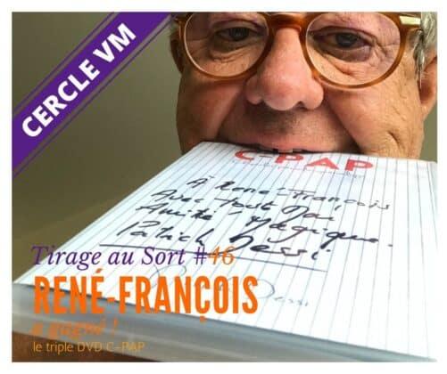 René François Remporte Le 46e Tirage Au Sort Réservé Aux Membres Du Cercle Vm