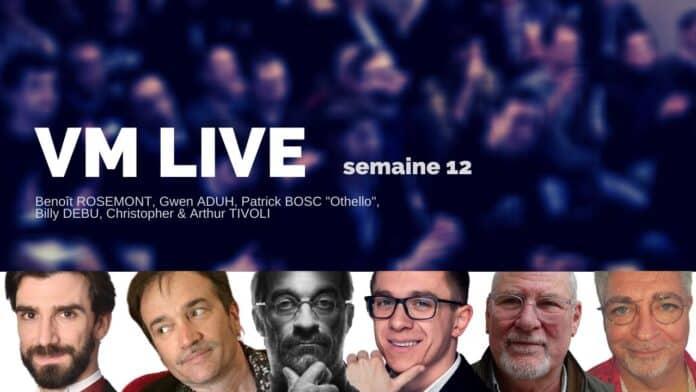VM Live semaine 12