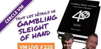 Gambling Sleight of Hand avec Jean-Jacques Sanvert & Yann HARDY