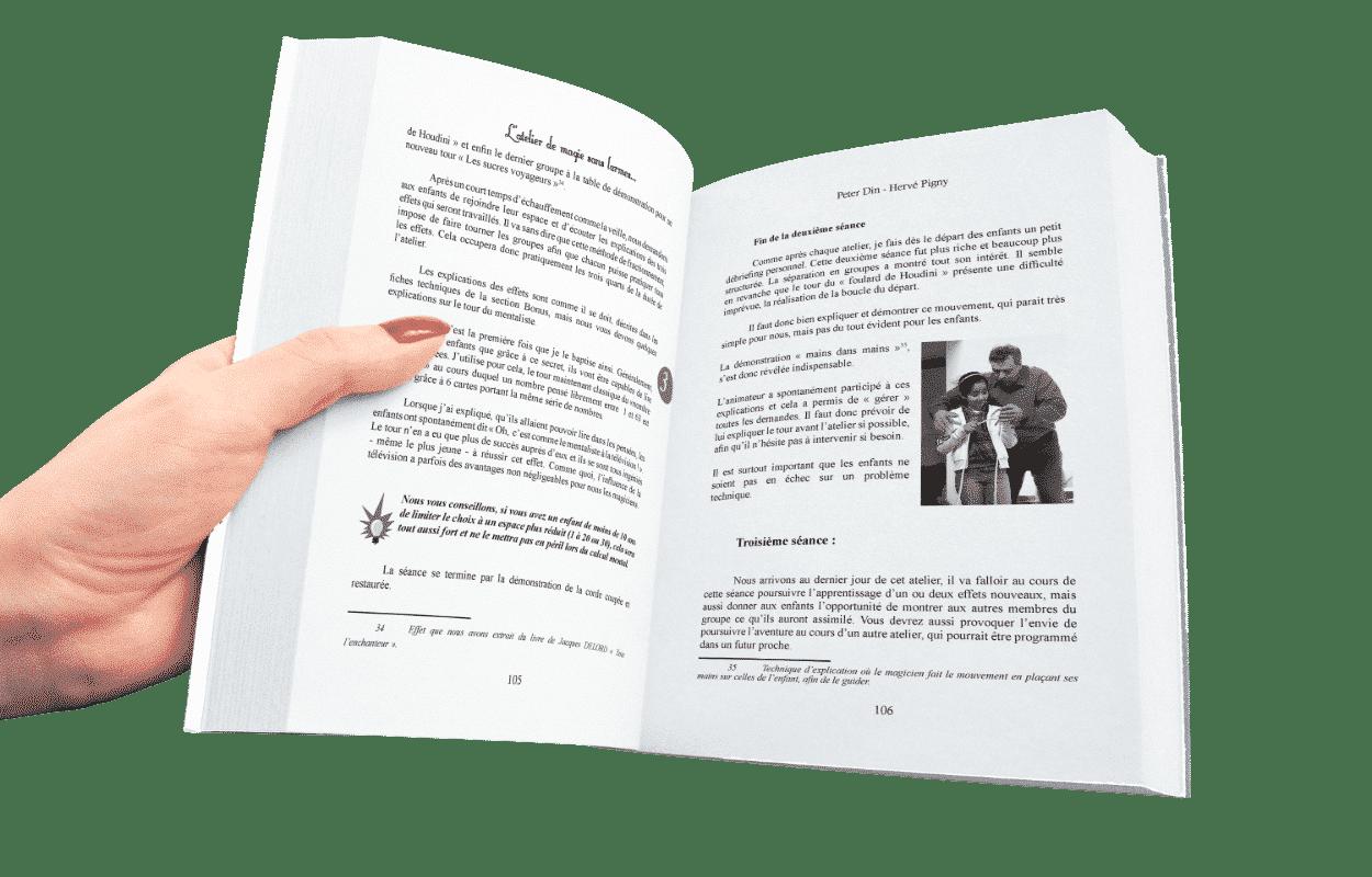 Atelier de la Magie sans Larme de Peter DIN & Hervé PIGNY