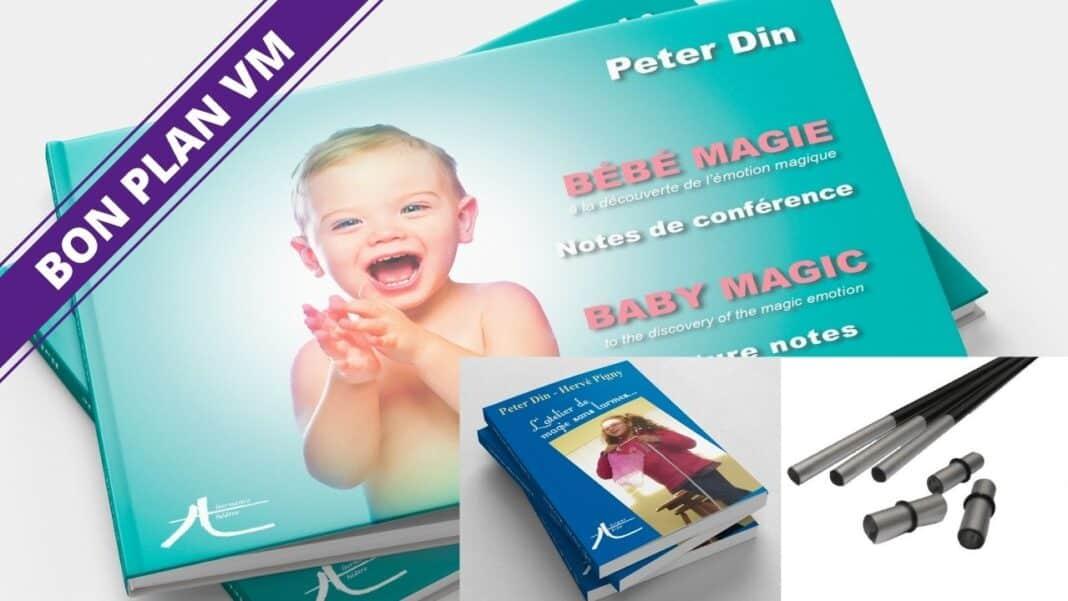 Bébé Magie de Peter DIN pile