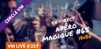 vm live apéro magique #65